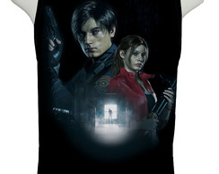 Camiseta Game Resident Evil 2 Remake - Regata