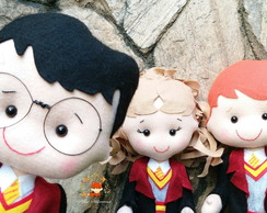 Trio Harry Potter - Harry, Hermione, Rony