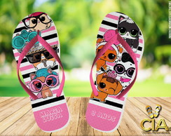 Chinelo Personalizado -LOL Dogs