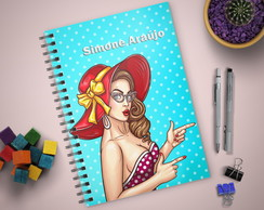 Planner Permanente | Capa Pin Up
