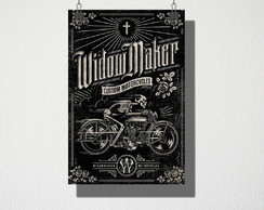 Poster A4 Custom motorcycles