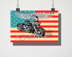 Poster A4 American