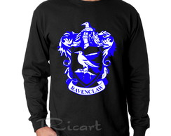Camiseta Manga Longa Harry Potter Corvinal