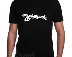 Camiseta Whitesnake Banda De Rock