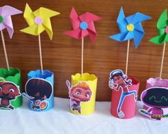 Topper Docinho Mini Rocket Power No Elo7 Mamãe Festeira