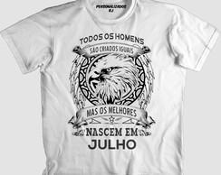 3c8102b106 ... Camisa OS MELHORES NASCEM EM JULHO