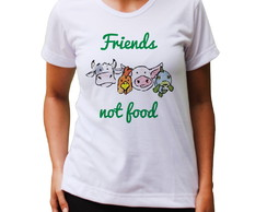Baby Look Friends Not Food - Cores