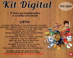 Kit Patrulha Canina Digital