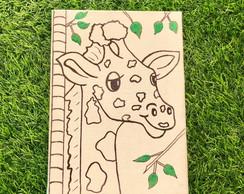 Desenho De Girafa Elo7