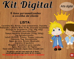 Kit Pequeno Principe Digital