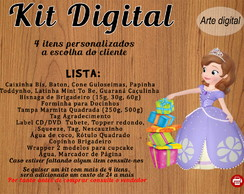 Kit Princesa Sofia Digital