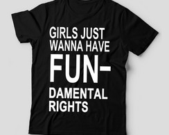 Camiseta Girls just
