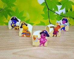 Forminha de Doces Backyardigans pirata
