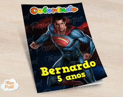 Revista colorir Super Man