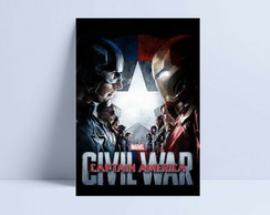 Quadro Marvel Civil War