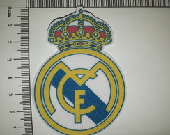 Ref 82002 - Patch Estampado Termo colante-Escudo Real Madrid