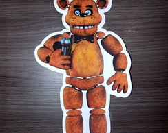 Kit Placas / Five Nights at Freddy's