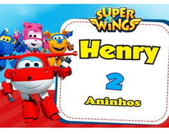 Rotulo Batata Super Wings