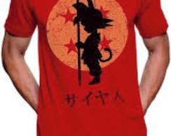 Camiseta Goku Esfera Dragon Ball Camiseta de anime Nerd gek
