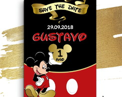 Save the Date Mickey - Reserve a data - Digital