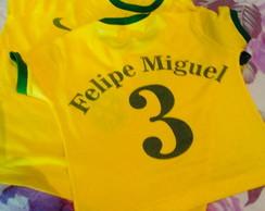 Chinelo Camiseta Seleção  f65f9543afafd