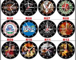 9685e60eda9 ... Relógio de Parede em MDF - Acompanha Pilha - Alta qualidade