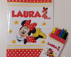 Kit Revista de Colorir - Minnie