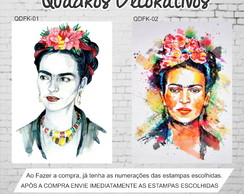 Quadro Decorativo Frida Kahlo 40x30