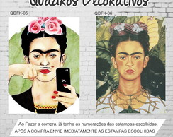 Quadro Frida Kahlo Girl Power 50x40
