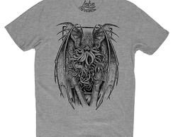 Camiseta Camisa Hp Lovecraft Call Of Cthulhu Personalizada 2