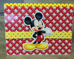Convite Mickey 3D - Poup UP