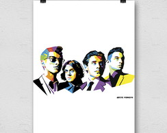 POSTER DECORATIVO ARCTIC MONKEYS