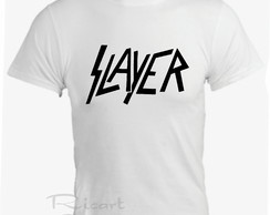 Camiseta Slayer Banda de Rock
