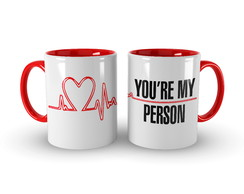 Caneca Grey´s Anatomy - You're My Person