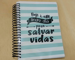 Caderno Universitário Listras Greys Anatomy