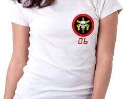 5ca6ae1168 ... Blusa feminina baby look camiseta bope tropa de elite polici