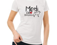 Camisetas Universitarias Medicina Veterinaria