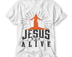Camiseta Religiosa Jesus is Alive