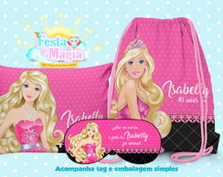 kit Festa do Pijama Barbie