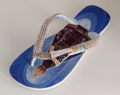 Chinelo Havaianas Top Decorada N.s. Aparecida