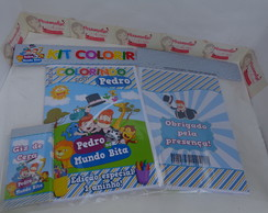 Kit Colorir Mundo Bita