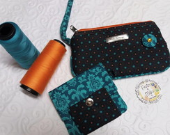 CLutch Priscila e Carteira Pocket