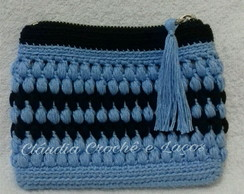 Mini Clutch de Crochê