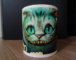 "Caneca porcelana ""?Alice in Wonderland"""
