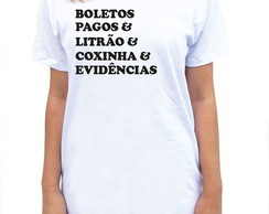 CAMISETA LONG - BOLETOS