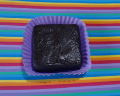 brownie cenográfico (fake)