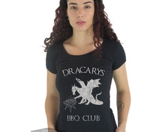 Camiseta Feminina Game Of Thrones Dracarys Bbq Club Daenerys