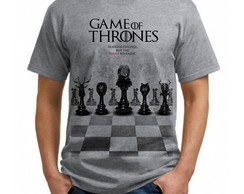 Camiseta Masculina ou feminina Série Game Of Thrones