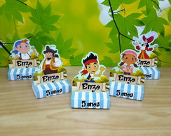 Porta Chocolate Biss Jake e os Piratas