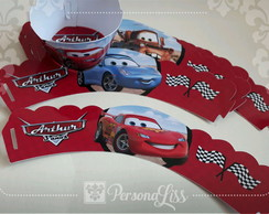 Wrapper p/ Cupcake Carros